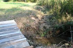 bridge with ditch