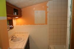 Goodbye orange paint!