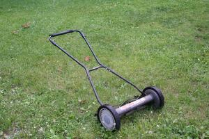 Our reel mower