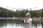 Spencer and Rob at Echo Lake, a little west of Denver