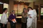 Jean Wolfe, her mom Gerry Werner, Jean Ann Irving, and Ellen adoring Spencer