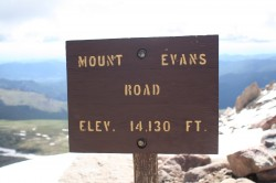 The highest road in the country