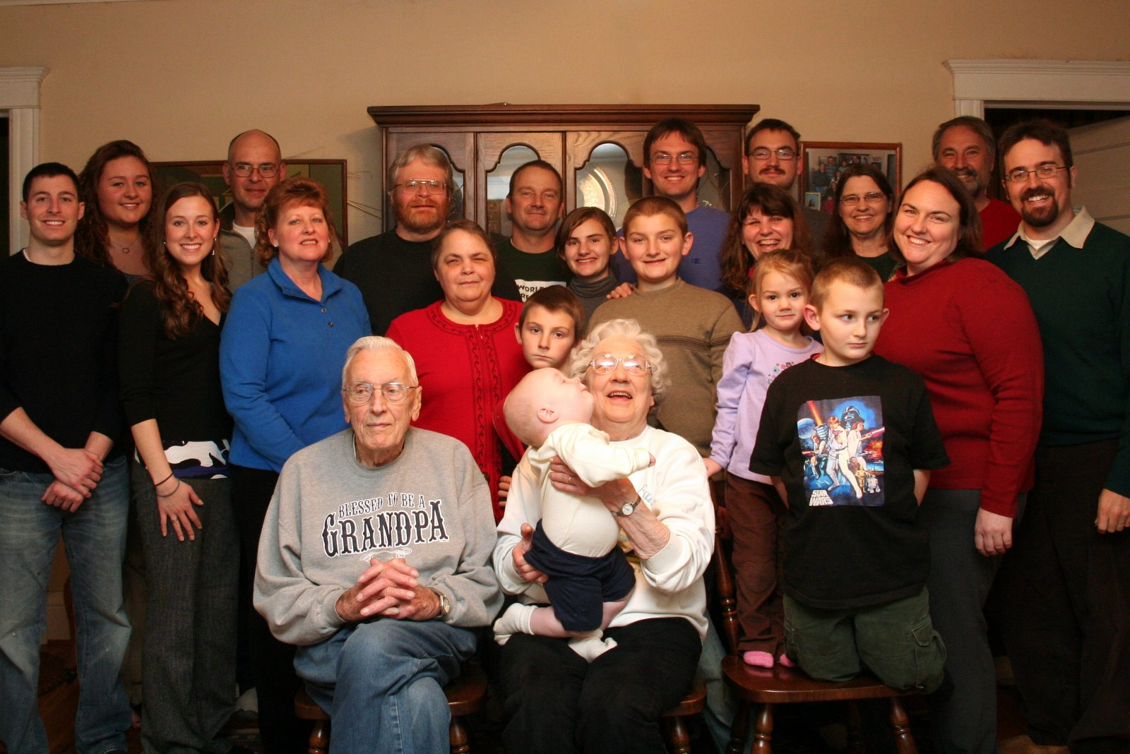 The greater Dibble Family - 23 in total