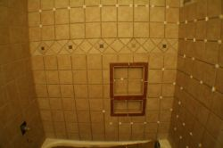 Bathtub tile complete