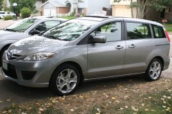Our new family car - a Mazda 5