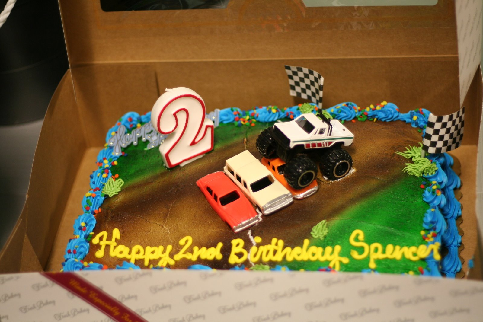 Spencer's 2nd birthday cake