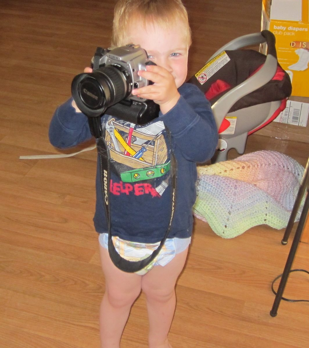 Spencer the photographer