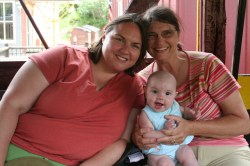 Ellen, Meg, and Clare