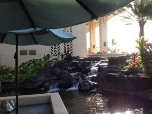 waterfall by Ilima terrace