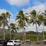 Looking inland from Kapaa