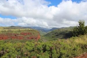 Waimae canyon view