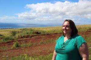 Clare looking towards Niihau