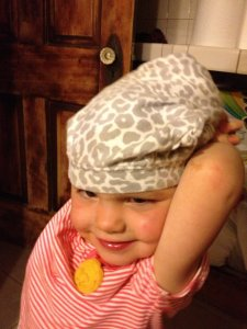 Pants on the head is always a hit!