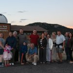 Visit to the Estes Park observatory for star gazing