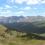 Beautiful views from trail ridge road