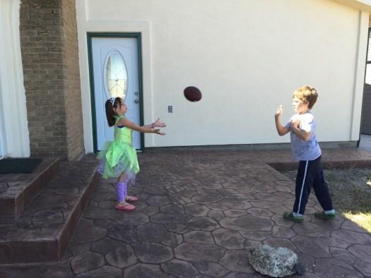 Spencer-throws-the-football-to-Meg