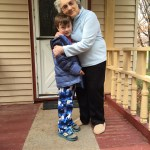 Spencer says goodbye to great grandma