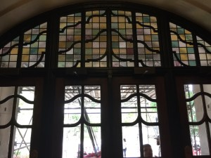 Stained glass at the Michigan Union