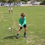 Spencer golfing