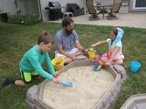 Playing in the sandbox