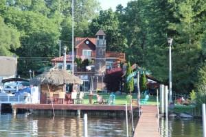 The Hoye place on Whitmore Lake
