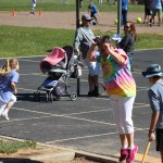 Ms. Chapla long jumping