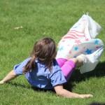 Meg sack somersault