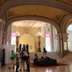 Entrance hall of Museo Nacional