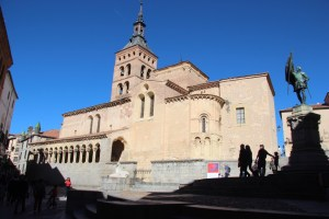 Cool buildilng in Segovia