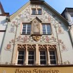 beautiful facade in Trier