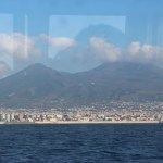 Vesuvius from the ferry