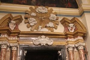 Doorway to the privileged altars