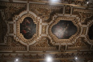 Ceiling in the altar room