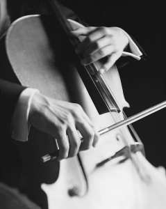 cello thumb position