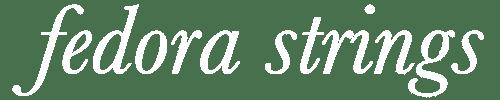Fedora Strings Sheet Music for Sale