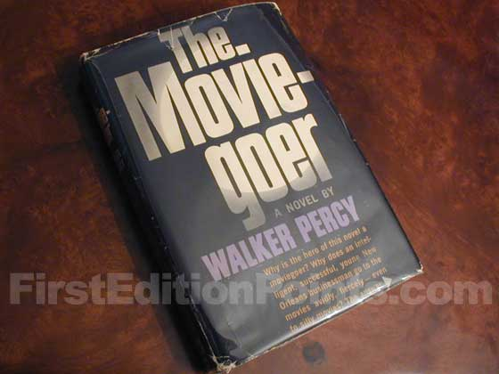 First-edition copy of The Moviegoer