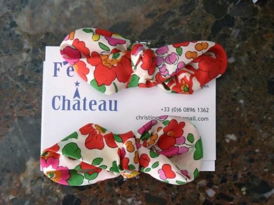 accessoires sur mesure par couturière Fée au Château