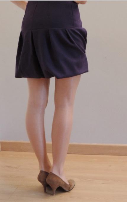 robes de soirée à plissage