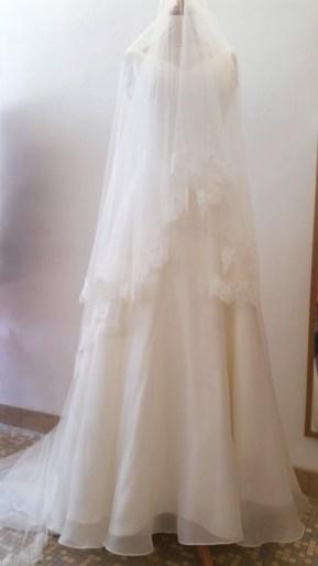 robe et voile de mariée par couturière 78 92