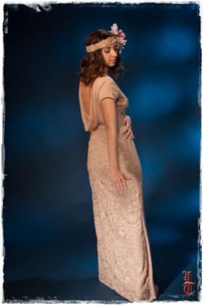 Robe de soirée couture 78 92