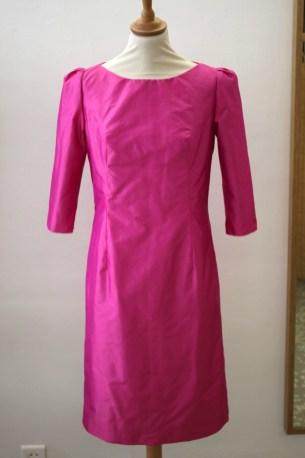 robe fourreau en soie thaï par couturière 78 92