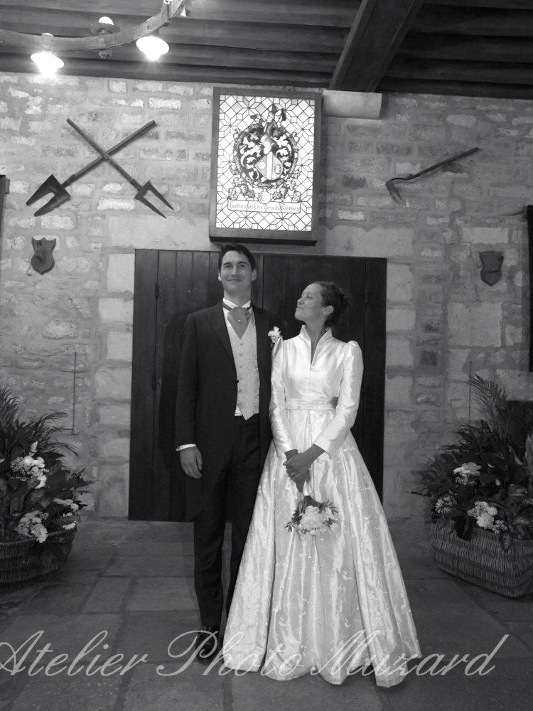 robe de mariée par couturière artisan créateur à Versailles