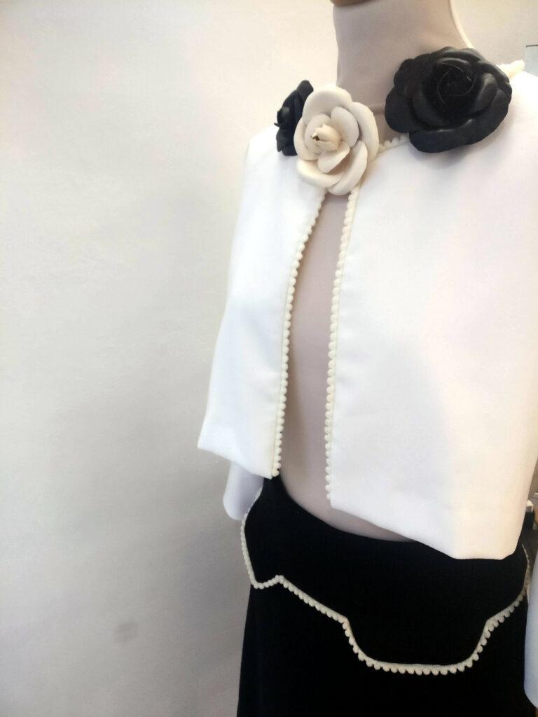 Jupe et caraco par Fée au Château, vos créations couture à Versailles