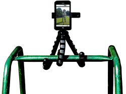 Tripod-on-Golf-Stand