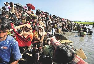 Rohingya Muslim,Myanmar,Bangladesh govt
