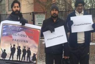 Slogan 'Chapal Chor Pakistan' Gum in America.