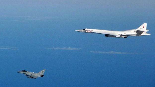 UK,russian bombers,North sea,Fighter jets