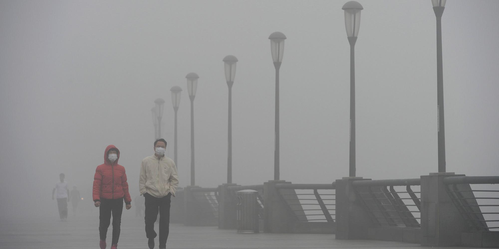 china, China pollution, Shanghai, world, smog