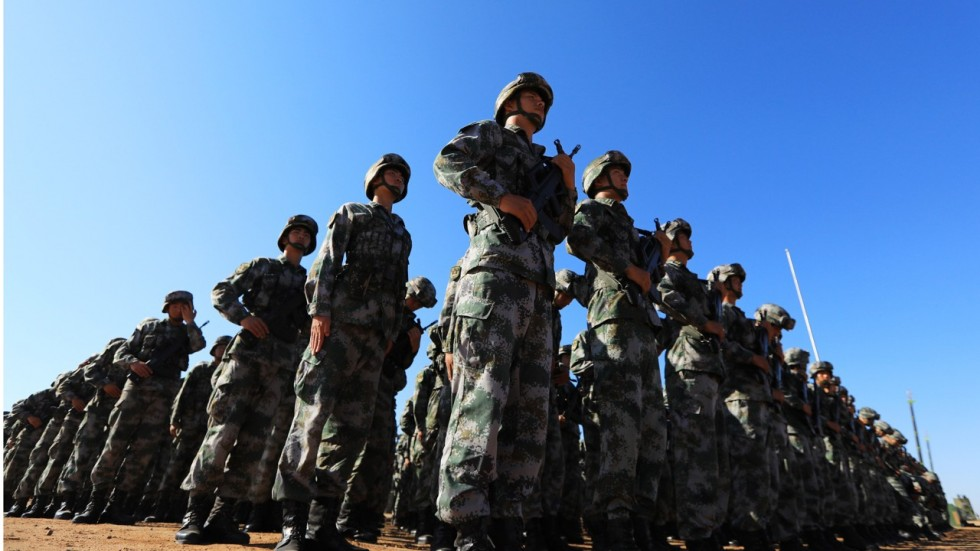 Xi Jinping,PLA,frontier troops,China