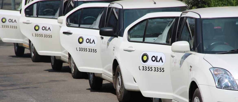 Ola cab ,Gurgaon highway , canter